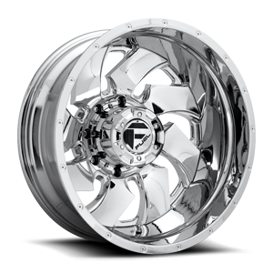 Cleaver Dually Rear D240 Chrome 8 lug