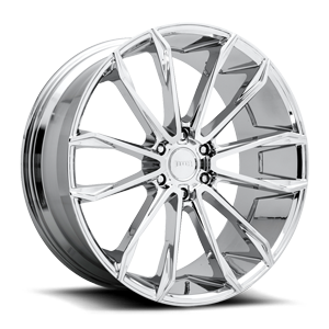 DUB 1-Piece Clout - S251 6 Chrome