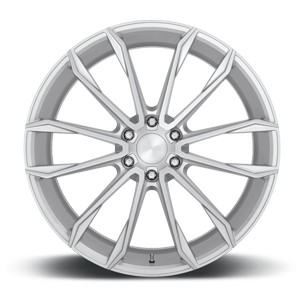 Clout - S248 Silver w/ Brushed Face 6 lug