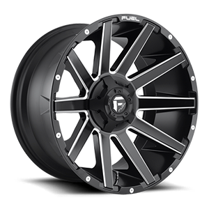 Fuel 1-Piece Wheels Contra - D616 5 Matte Black & Milled
