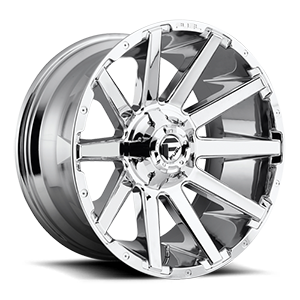 Fuel 1-Piece Wheels Contra - D614 6 Chrome