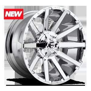 Fuel 1-Piece Wheels Contra - D614 6 Chrome