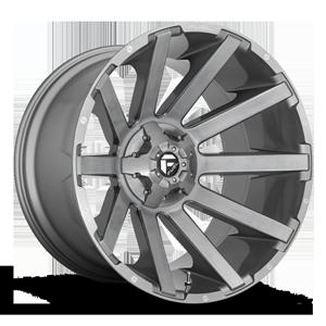 Fuel 1-Piece Wheels Contra - D714 6 Platinum