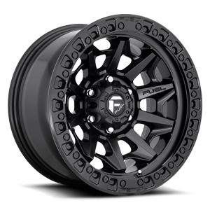 Covert - D694 Matte Black 6 lug