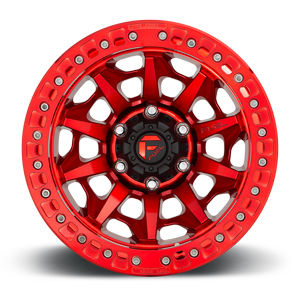 Covert Beadlock - D113 Candy Red 6 lug