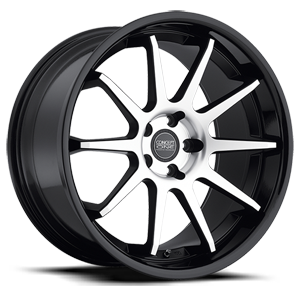 Concept One Wheels CS - 10.0 5 Machined