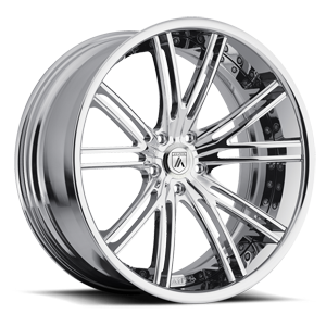 Asanti Forged Wheels C/X Series CX188 5 Chrome