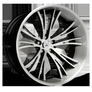 Asanti Forged Wheels C/X Series CX502 5 White Brushed Lip