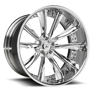 Asanti Forged Wheels C/X Series CX505 5 Chrome
