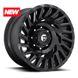 Cyclone - D682 Gloss Black 6 lug