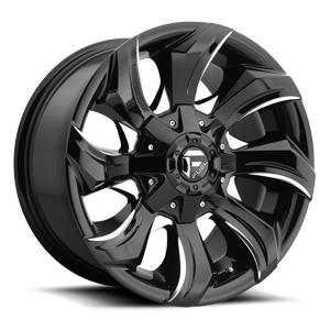 Fuel 1-Piece Wheels Stryker - D571 5 Gloss Black & Milled