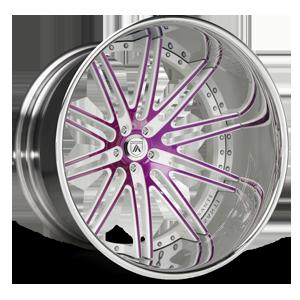 Asanti Forged Wheels C/X Series CX504 5 Purple