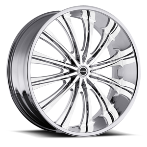 Strada Wheels Corona 5 Chrome