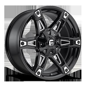 Fuel 1-Piece Wheels Dakar - D622 5 Gloss Black & Milled