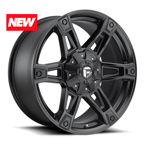 Fuel 1-Piece Wheels Dakar - D624 5 Matte Black