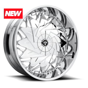 DUB 1-Piece Dazr - S235 5 Chrome