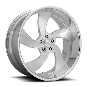 Desperado 5 - Precision Series Brushed w/ Polished Lip 5 lug