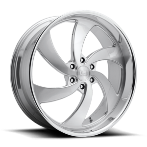 Desperado 6 - Precision Series Brushed w/ Polished Windows 6 lug
