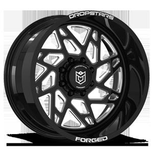 Dropstars F60 8 Gloss Black w/ CNC Milled Accents