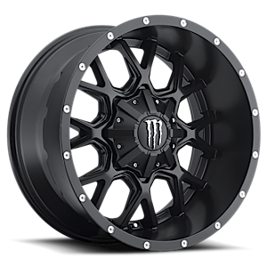 Monster Energy LE 645 6 Black w/ Machined