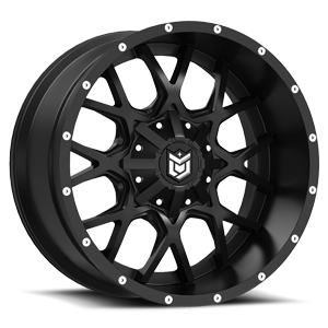 Dropstars Offroad DS645 8 Gloss Black with Mirror Machined Face