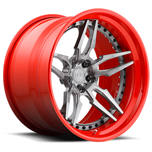 DUB Forged Attack 5 - XA40 5 Brushed, DDT | Red Hoop