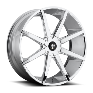 DUB 1-Piece Push - S201 5 Chrome 24