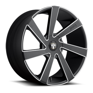 Directa - S133 Black & Milled 5 lug