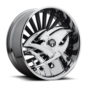 DUB Skirts S507 - Razz 5 Chrome