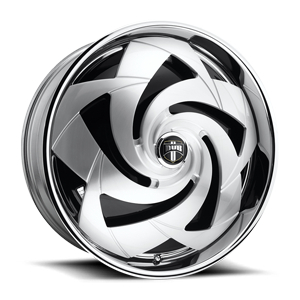 DUB Spinners Slasher - S806 6 Brushed
