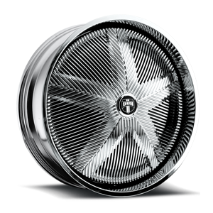 DUB Spinners Trippin' - S734 5 Chrome
