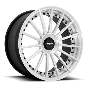 DUS Brushed Gloss Clear 5 lug