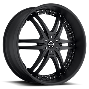 Strada Wheels Denaro 6 All Gloss Black