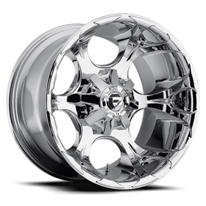 Fuel Deep Lip Wheels Dune - D522 5 Chrome
