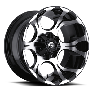 Fuel Deep Lip Wheels Dune - D524 5 Machined Black