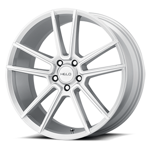 Helo Wheels HE911 5 Silver Machined