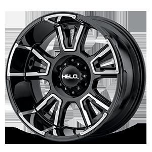 Helo Wheels HE914 6 Gloss Black Milled