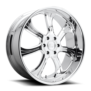 El Rey - Forged Street Polished 6 lug