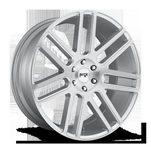 Niche Sport Series Elan - M099 6 Silver Brushed