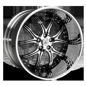 Asanti Forged Wheels ELT Series ELT150 5 Black with Engrave Lip