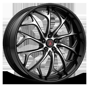 Asanti Forged Wheels ELT Series ELT878 5 Black Brushed