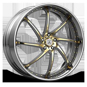 Asanti Forged Wheels ELT Series ELT880 5 Gold