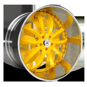 Asanti Forged Wheels ELT Series ELT503 5 Yellow