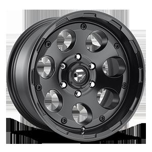 Fuel 1-Piece Wheels Enduro - D608 6 Matte Black