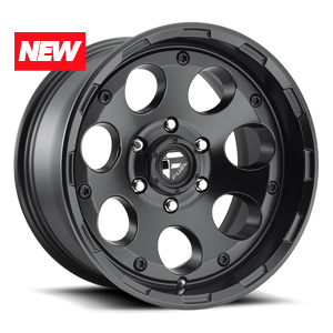 Fuel 1-Piece Wheels Enduro - D608 6 Matte Black