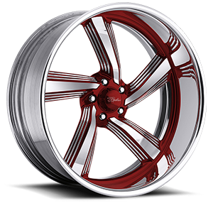 Raceline Wheels Explosion 5 5 Red