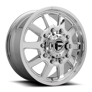Fuel Dually Wheels FF09D - 10 Lug Front 10 Polished
