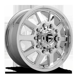 Fuel Dually Wheels FF09D - 10 Lug Front 10 Polished