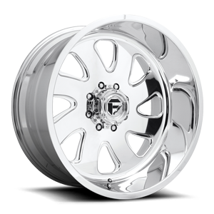 FF12D - 8 Lug Super Single Front Polished 8 lug