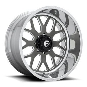 Fuel Dually Wheels FF19D - Super Single Front 8 Candy Black